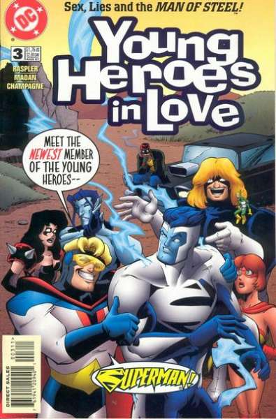 Young Heroes in Love #3 comic books for sale