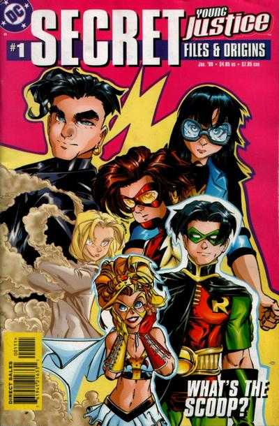 Young Justice #1 comic books - cover scans photos Young Justice #1 comic books - covers, picture gallery
