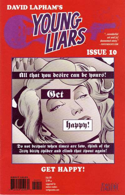 Young Liars #10 Comic Books - Covers, Scans, Photos  in Young Liars Comic Books - Covers, Scans, Gallery