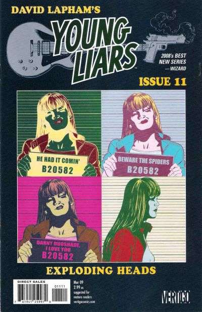Young Liars #11 Comic Books - Covers, Scans, Photos  in Young Liars Comic Books - Covers, Scans, Gallery