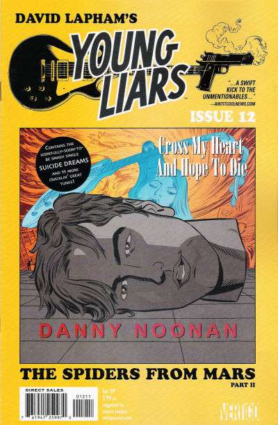 Young Liars #12 comic books for sale