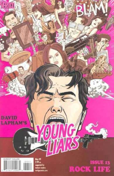 Young Liars #13 comic books for sale