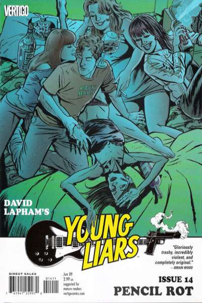 Young Liars #14 Comic Books - Covers, Scans, Photos  in Young Liars Comic Books - Covers, Scans, Gallery