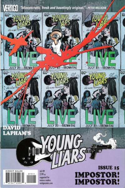 Young Liars #15 Comic Books - Covers, Scans, Photos  in Young Liars Comic Books - Covers, Scans, Gallery