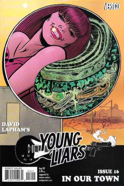 Young Liars #16 Comic Books - Covers, Scans, Photos  in Young Liars Comic Books - Covers, Scans, Gallery