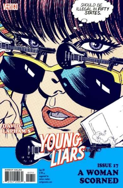 Young Liars #17 comic books - cover scans photos Young Liars #17 comic books - covers, picture gallery
