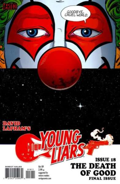 Young Liars #18 comic books - cover scans photos Young Liars #18 comic books - covers, picture gallery