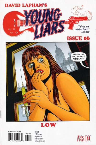 Young Liars #6 Comic Books - Covers, Scans, Photos  in Young Liars Comic Books - Covers, Scans, Gallery