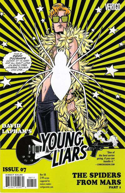 Young Liars #7 Comic Books - Covers, Scans, Photos  in Young Liars Comic Books - Covers, Scans, Gallery