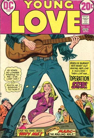 Young Love #103 comic books for sale