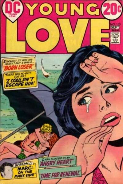 Young Love #105 comic books for sale