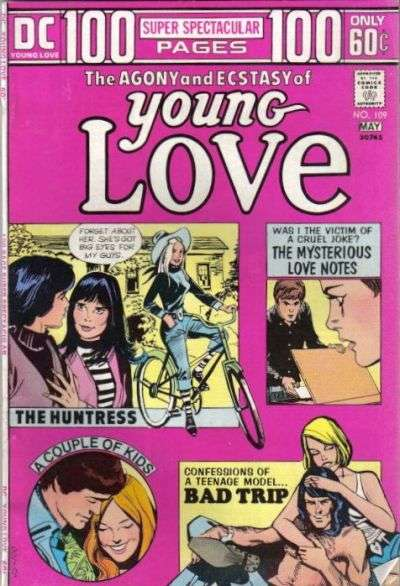 Young Love #109 comic books for sale