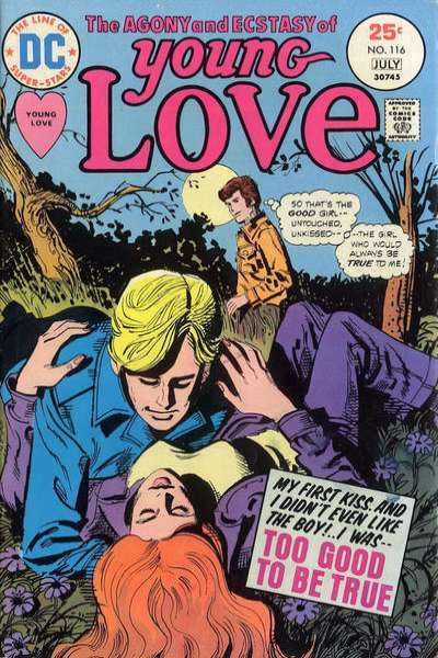 Young Love #116 Comic Books - Covers, Scans, Photos  in Young Love Comic Books - Covers, Scans, Gallery