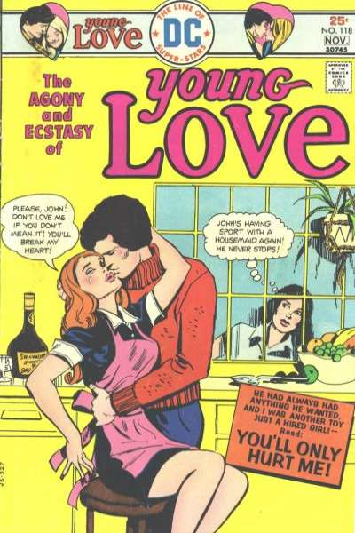 Young Love #118 Comic Books - Covers, Scans, Photos  in Young Love Comic Books - Covers, Scans, Gallery