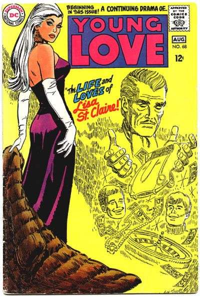 Young Love #68 comic books for sale