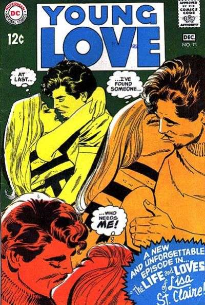 Young Love #71 comic books - cover scans photos Young Love #71 comic books - covers, picture gallery