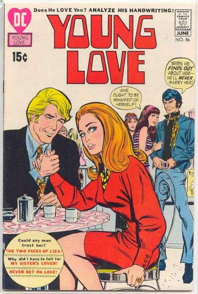 Young Love #86 Comic Books - Covers, Scans, Photos  in Young Love Comic Books - Covers, Scans, Gallery