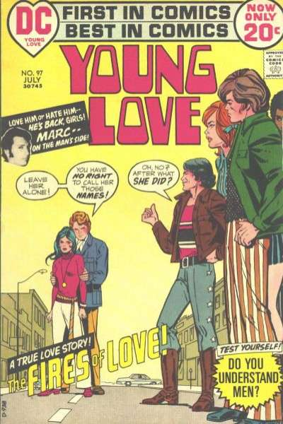 Young Love #97 comic books for sale