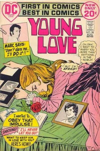 Young Love #98 comic books for sale