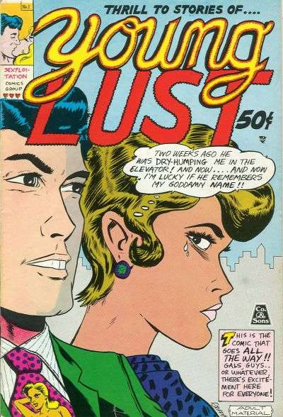Young Lust comic books
