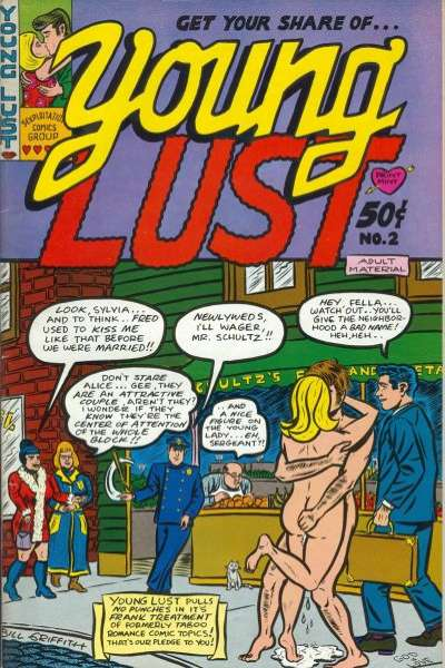 Young Lust #2 comic books - cover scans photos Young Lust #2 comic books - covers, picture gallery