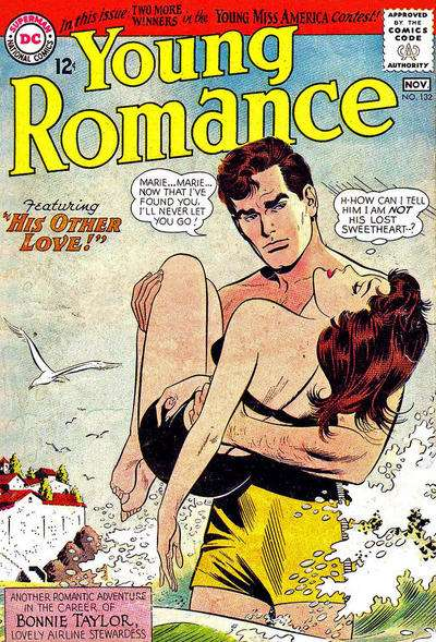Young Romance Comics #132 Comic Books - Covers, Scans, Photos  in Young Romance Comics Comic Books - Covers, Scans, Gallery