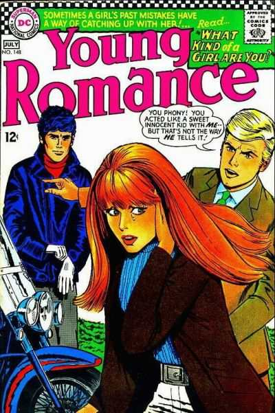 Young Romance Comics #148 Comic Books - Covers, Scans, Photos  in Young Romance Comics Comic Books - Covers, Scans, Gallery