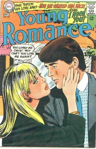 Young Romance Comics #149 Comic Books - Covers, Scans, Photos  in Young Romance Comics Comic Books - Covers, Scans, Gallery