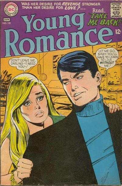 Young Romance Comics #151 comic books for sale