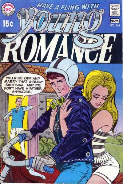 Young Romance Comics #162 comic books - cover scans photos Young Romance Comics #162 comic books - covers, picture gallery