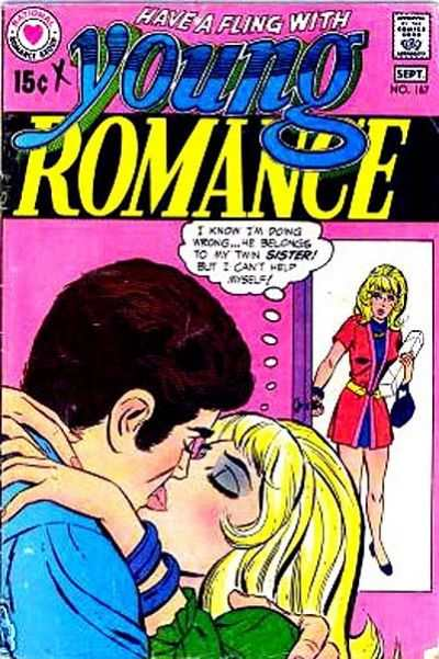 Young Romance Comics #167 comic books - cover scans photos Young Romance Comics #167 comic books - covers, picture gallery