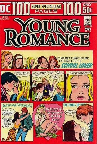 Young Romance Comics #198 comic books - cover scans photos Young Romance Comics #198 comic books - covers, picture gallery