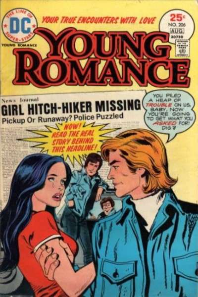 Young Romance Comics #206 comic books for sale