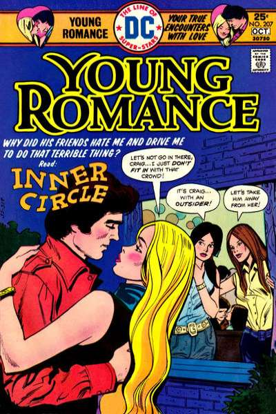 Young Romance Comics #207 comic books for sale
