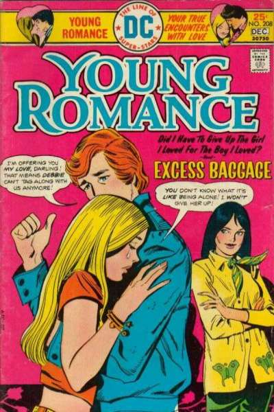 Young Romance Comics #208 comic books for sale