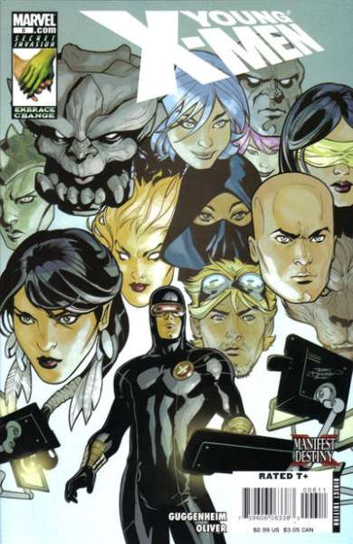 Young X-Men #6 comic books - cover scans photos Young X-Men #6 comic books - covers, picture gallery