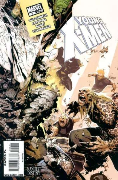 Young X-Men #9 Comic Books - Covers, Scans, Photos  in Young X-Men Comic Books - Covers, Scans, Gallery