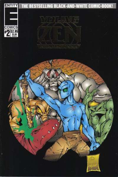 Young Zen Intergalactic Ninja #2 comic books for sale