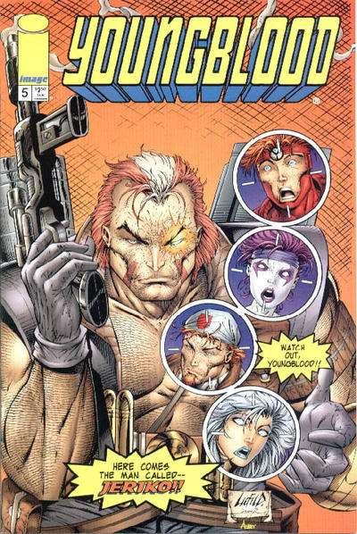Youngblood #5 comic books for sale
