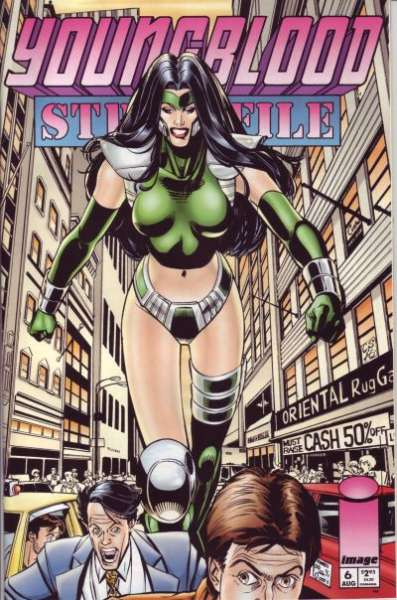 Youngblood: Strikefile #6 comic books for sale