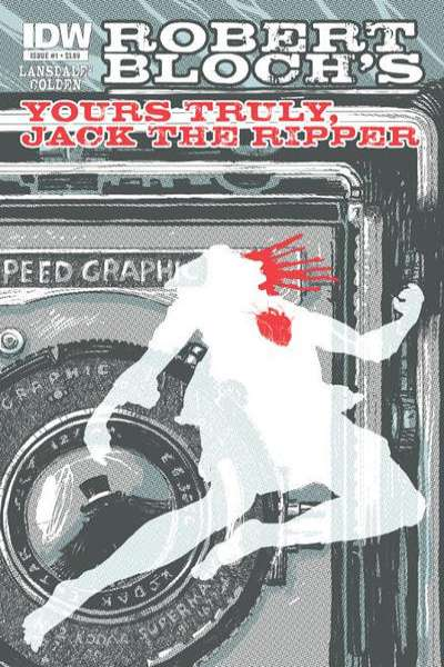 Yours Truly: Jack the Ripper comic books