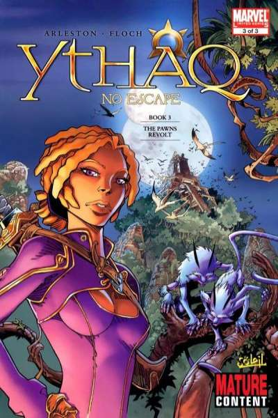 Ythaq: No Escape #3 comic books for sale