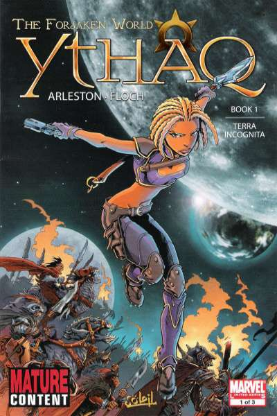 Ythaq: The Forsaken World #1 Comic Books - Covers, Scans, Photos  in Ythaq: The Forsaken World Comic Books - Covers, Scans, Gallery