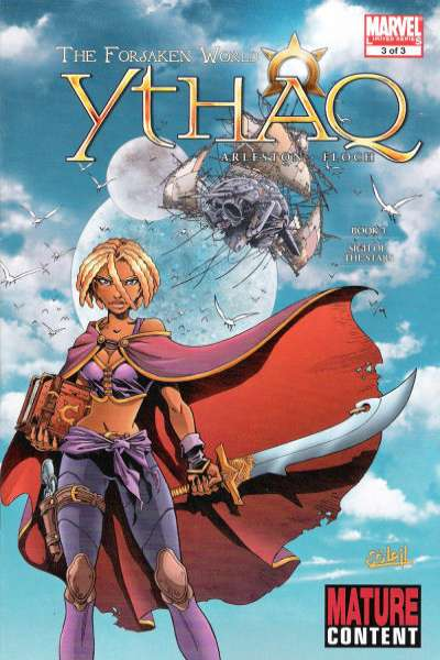 Ythaq: The Forsaken World #3 comic books for sale