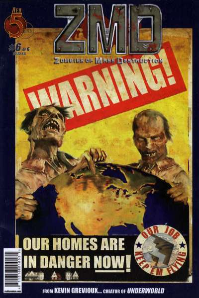 ZMD: Zombies of Mass Destruction #6 comic books - cover scans photos ZMD: Zombies of Mass Destruction #6 comic books - covers, picture gallery