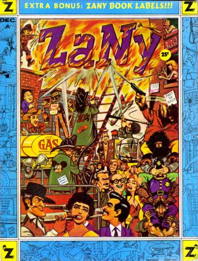 Zany #2 comic books - cover scans photos Zany #2 comic books - covers, picture gallery