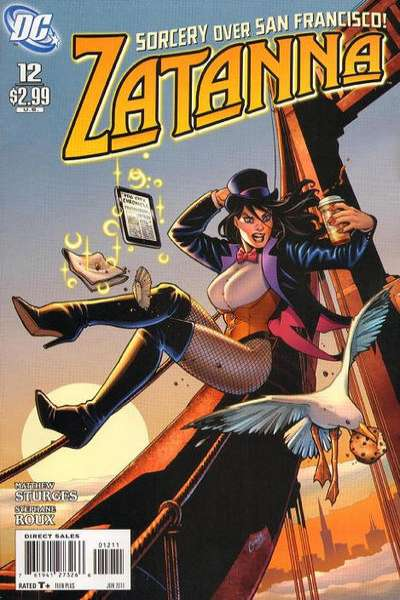 Zatanna #12 Comic Books - Covers, Scans, Photos  in Zatanna Comic Books - Covers, Scans, Gallery
