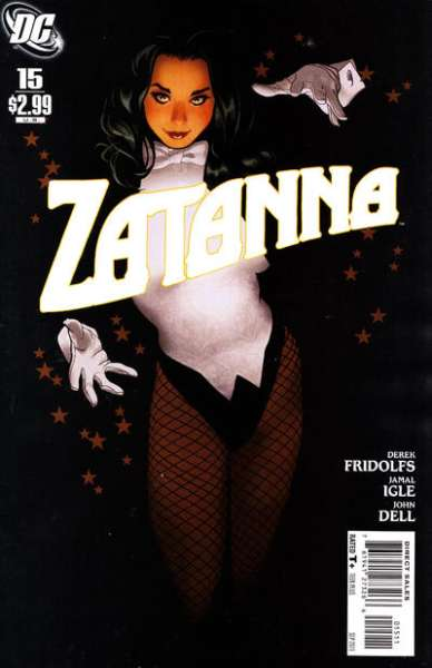 Zatanna #15 Comic Books - Covers, Scans, Photos  in Zatanna Comic Books - Covers, Scans, Gallery