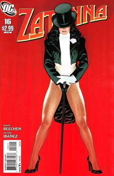 Zatanna #16 Comic Books - Covers, Scans, Photos  in Zatanna Comic Books - Covers, Scans, Gallery