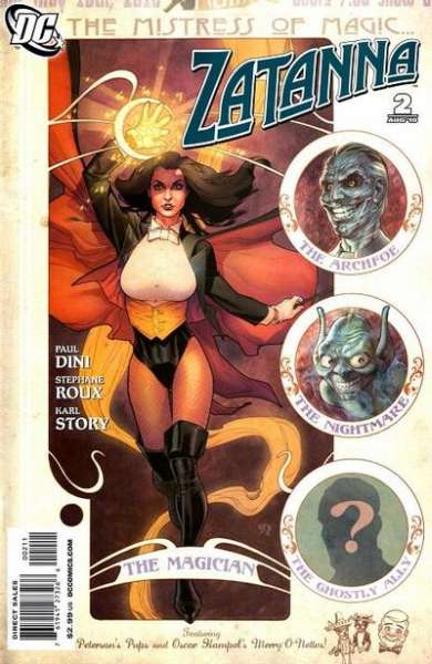 Zatanna #2 comic books - cover scans photos Zatanna #2 comic books - covers, picture gallery